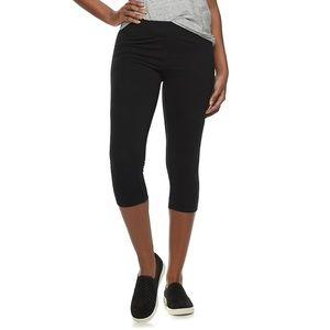 4/$20 Sonoma Stretch Capri Leggings NWT
